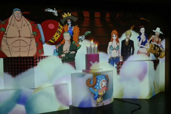 exhibits - Picture of Tokyo One Piece Tower, Minato - TripAdvisor