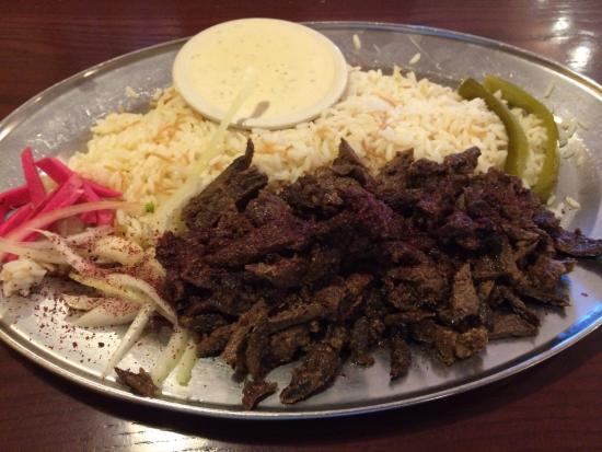 The Oasis Restaurant: Shawarma beef