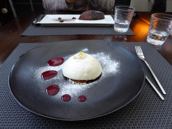 Pasta e Fagioli : Delizia al limone en Gianduiotto al gelato