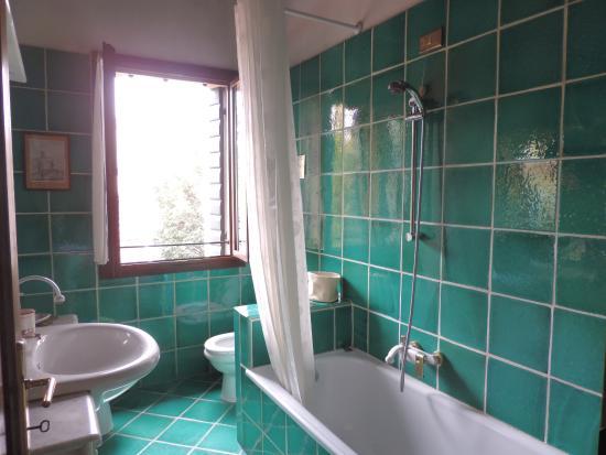 Bagno verde smeraldo foto di b&b vecio forno padova tripadvisor