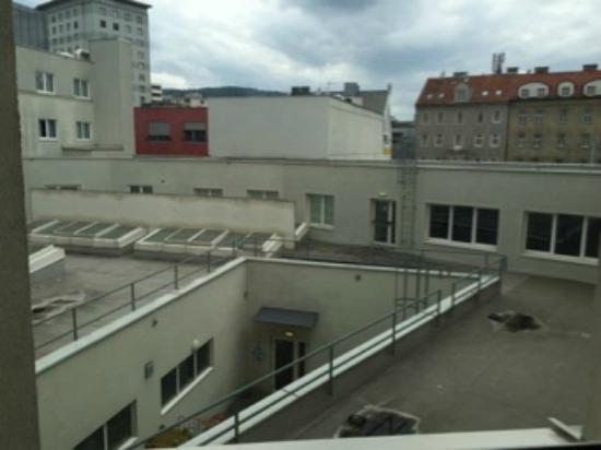 Ibis Budget Graz City: Aussicht nicht berauschend
