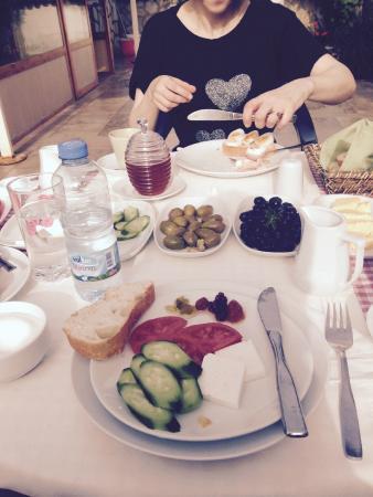 Mehtap Hotel Dalyan: Breakfast