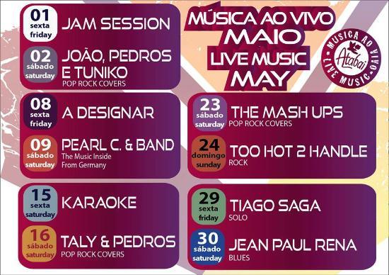 Barao de Sao Joao, Portekiz: AGENDA MUSICAL MÊS DE MAIO 2015