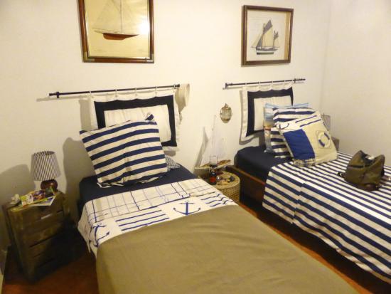 Demeure Criola : la chambre bateau