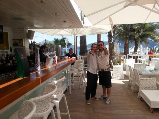 Hotel Cettia Beach Resort: My new pals......................