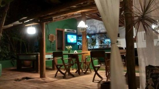 Pousada Raizes do Brasil: Área do café