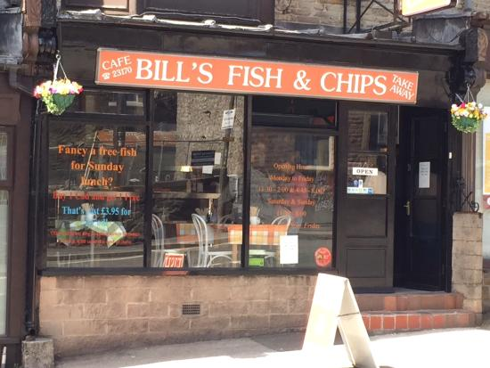 Images of fish and chip shops open on a sunday