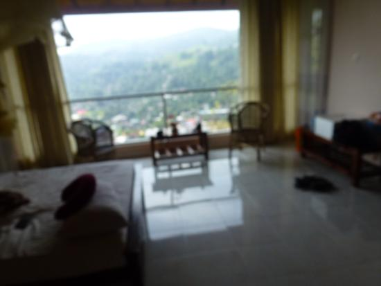 Kandy View Garden Hotel: View from the family room