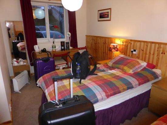 Port Askaig Hotel : Hotellrummet