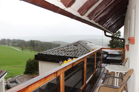 Sporthotel Sonnhalde: Balkon