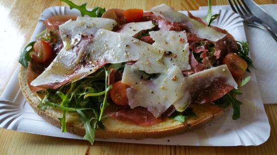 Jam Bar : Bruschetta 'la dolomiti'