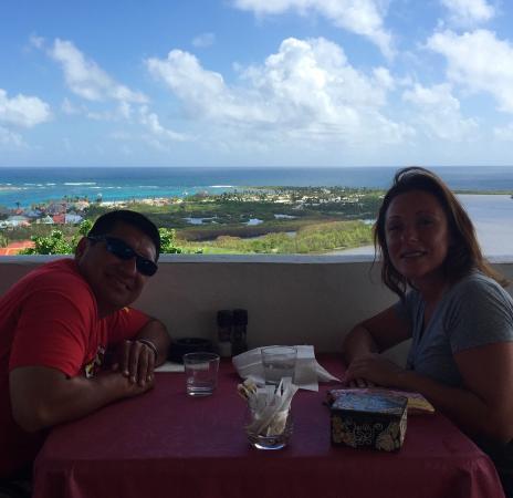 Paradise View : Beautiful breakfast view