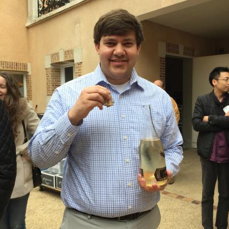 Jean-Marie Gobillard & Fils : After he sabered the bottle