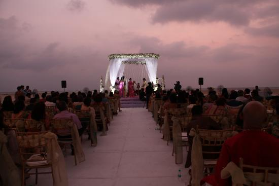 The Zuri White Sands Goa Resort Evening Beach Wedding
