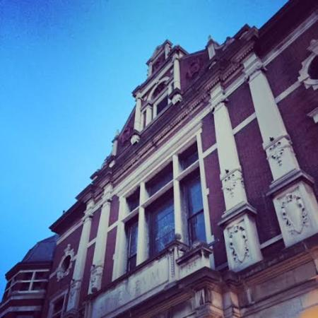 Haunted Indianapolis Ghost Walk: The Athenaeum where the tour began.