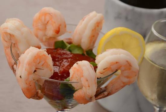 Blu Mangrove: Shrimp Martini
