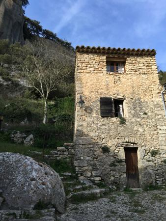 Auberge des Seguins : Room near the cliffs