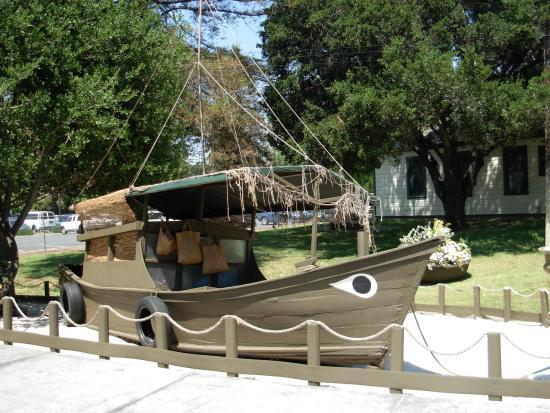 History Museum of San Jose: boat