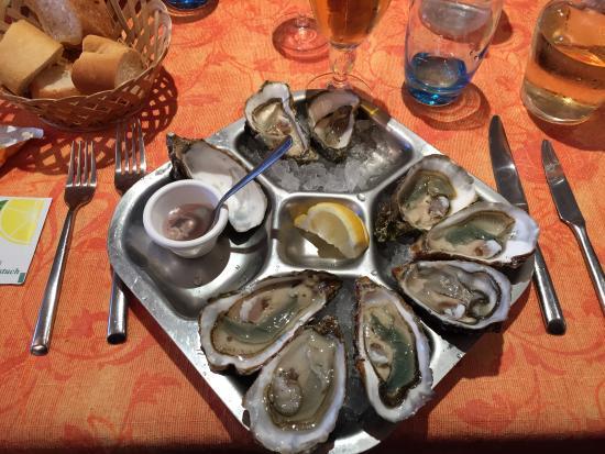 Restaurant l'Escale : Heerlijke oesters!