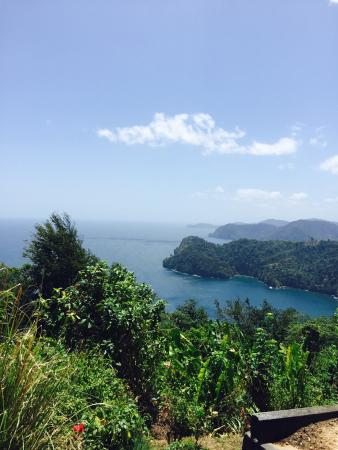Maracas overlook 30 minute drive from Piarco Village suites