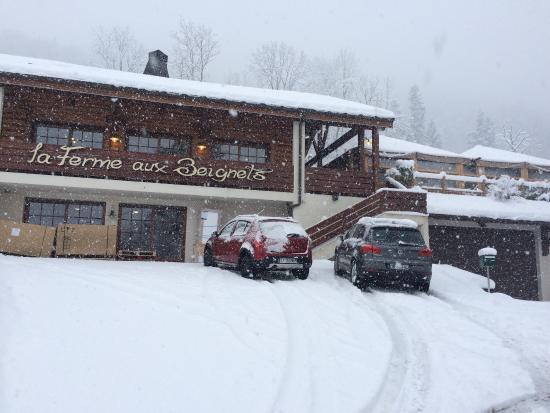 Sous la neige photo de la ferme aux beignets - La ferme aux beignets ...