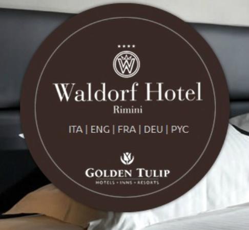 logo waldorf foto di waldorf suite hotel rimini