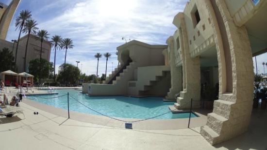 Inside the pyramid picture of luxor hotel casino las - Luxor hotel las vegas swimming pool ...
