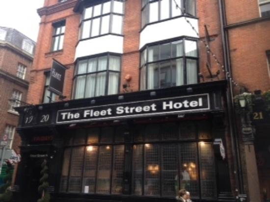 The Fleet Street Hotel: entrata hotel