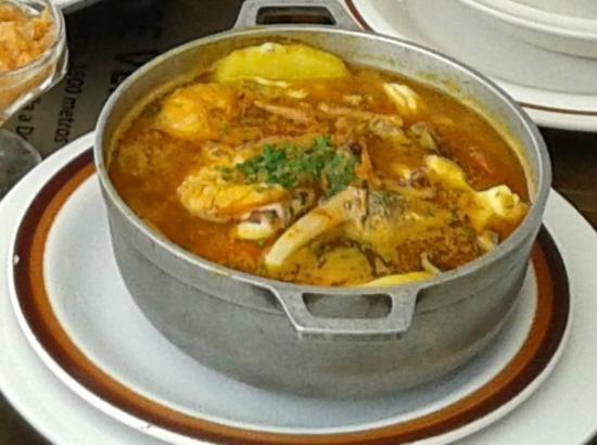La Calderada: Calderada Seafood Soup