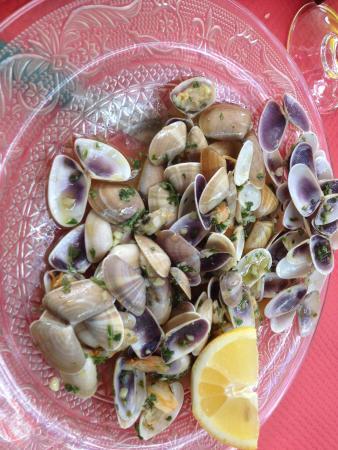 Restaurant Le Piccolo : le plat de tellines à 13.50 euros ça fait cher du kilo !!
