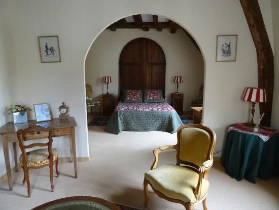 Le Patio Saumur : Our beautiful room
