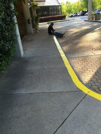 garden plaza norcross. Garden Plaza Atlanta / Norcross: Loitering People In Front Norcross R