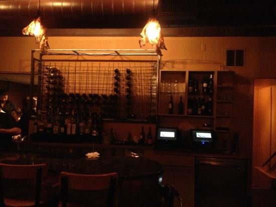 al Vento: The Bar Area.