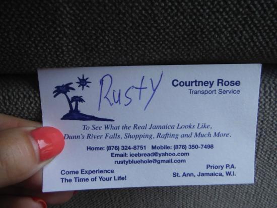 Mammee Bay, จาไมก้า: Rusty Blue Hole Contact