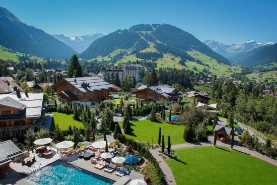 The Alpina Gstaad View Picture Of The Alpina Gstaad Gstaad - Hotel alpina gstaad