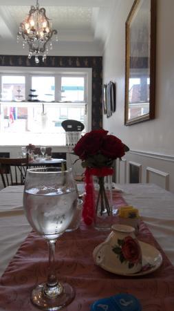 The O'Connor House English Tea Room: my table