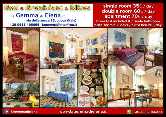 Bed & Breakfast La Gemma di Elena: Prices