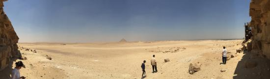 Casual Cairo detours: The Red Pyramid from the Bent Pyramid