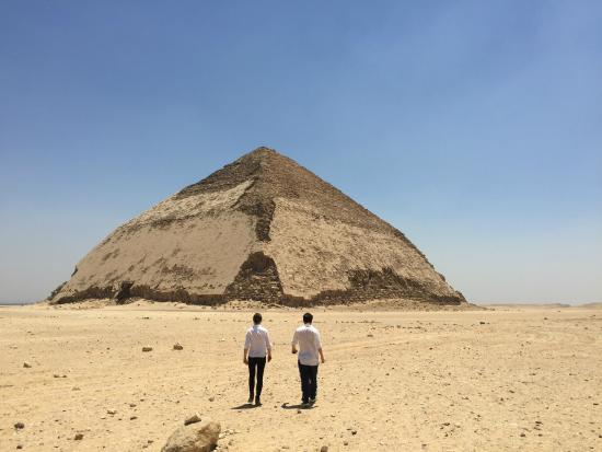Casual Cairo detours: The Bent Pyramid