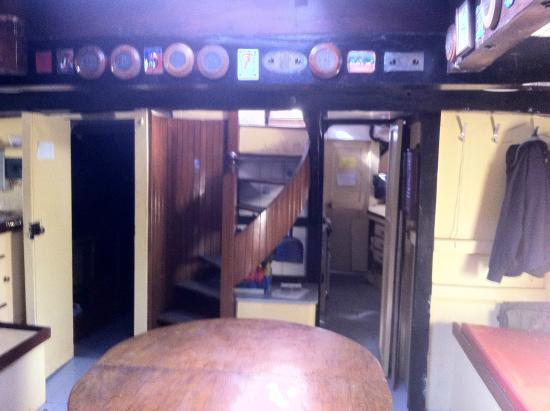 Vigilance of Brixham: Below deck