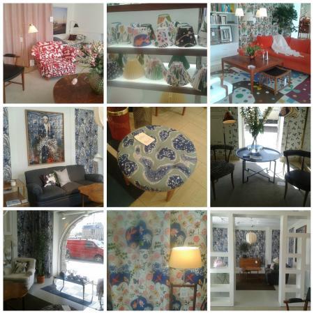 My collage of Svenskt Tenn interiors
