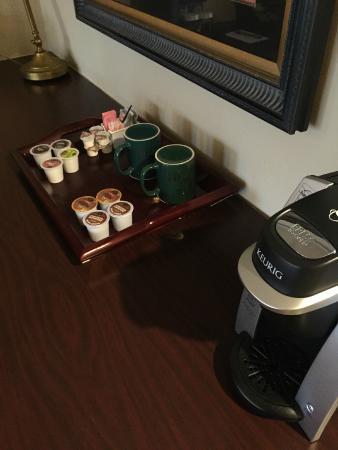 The Olde Mill Inn: Kreug coffeee!!