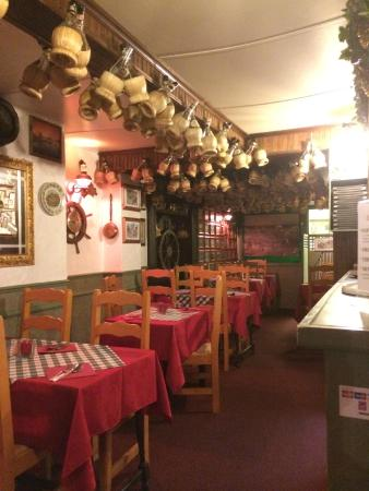 Piccolo Italia: El restaurante