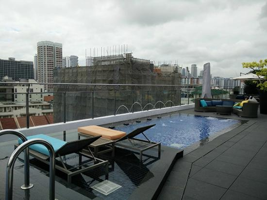 Parc Sovereign Hotel - Tyrwhitt : Rooftop pool