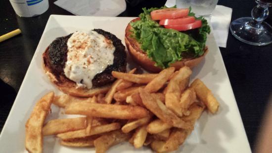 Liberty Tap Room: Black & Blue Burger