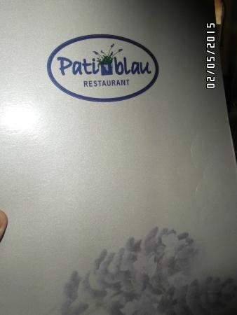 Pati Blau: restaurante de primera categoria