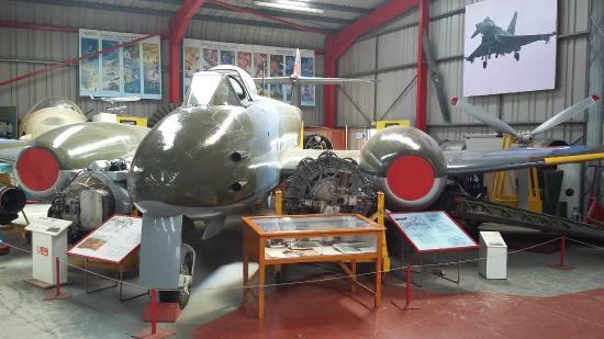 Coventry, UK: Inside the hanger