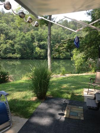 Catherine's Landing, an RVC Outdoor Destination: Our view of Lake Catherine