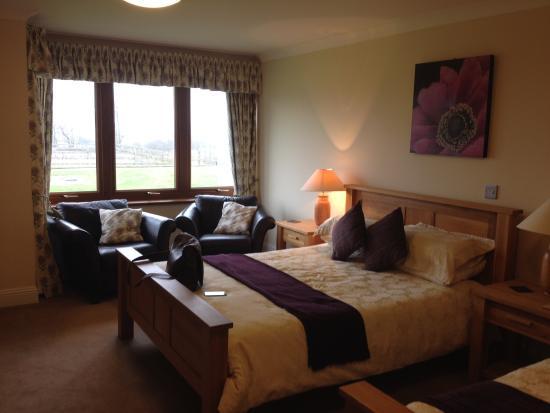 Peggyslea Farm: Our lovely room
