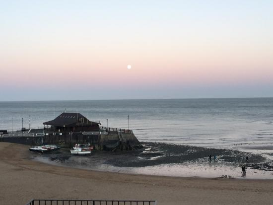The moon over Viking Bay